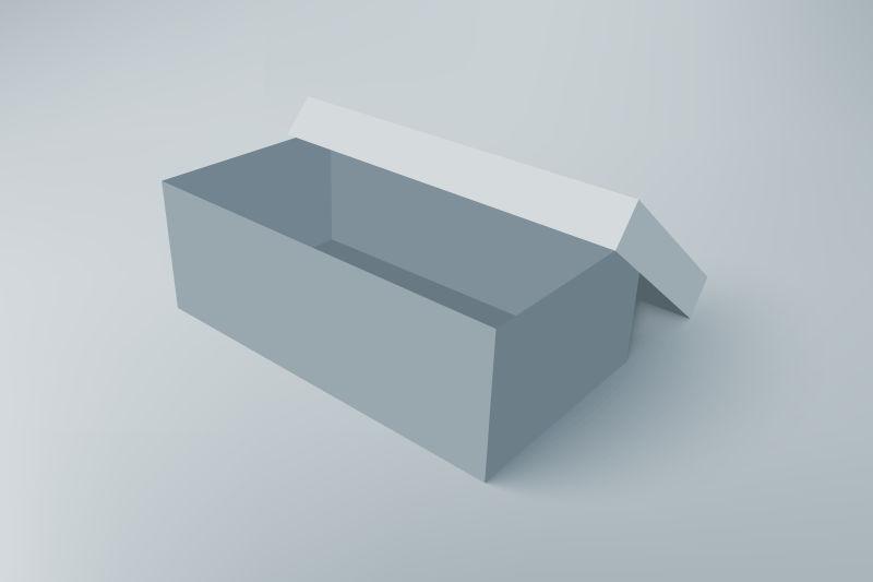 矢量的立体盒子设计