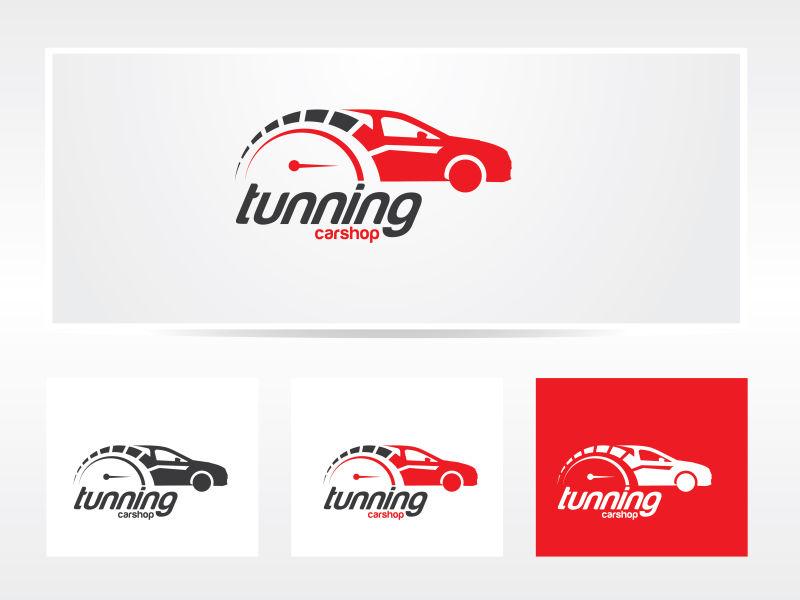 矢量的汽车logo创意设计