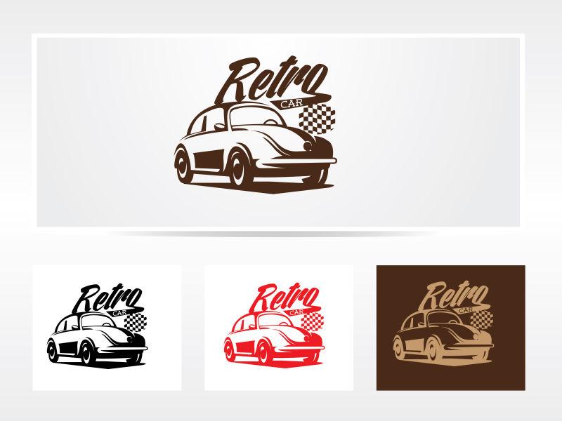 创意的矢量汽车logo