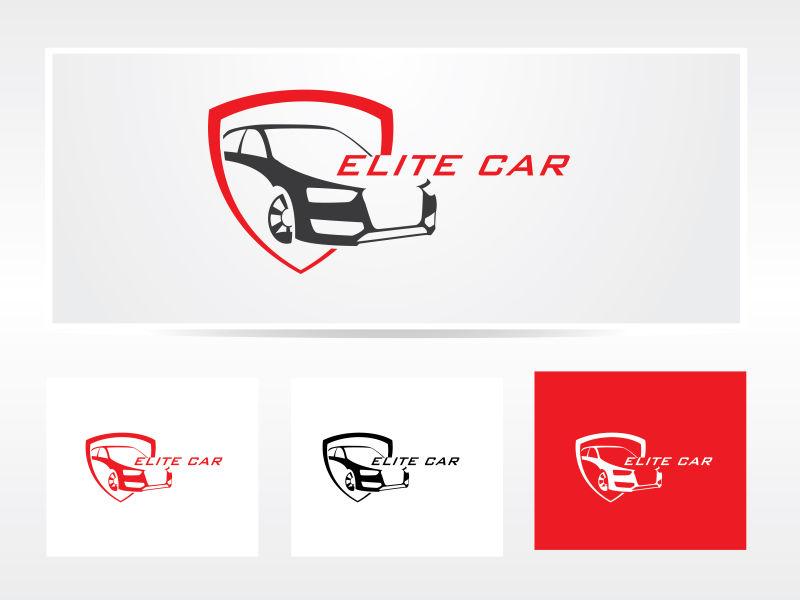 汽车矢量logo设计