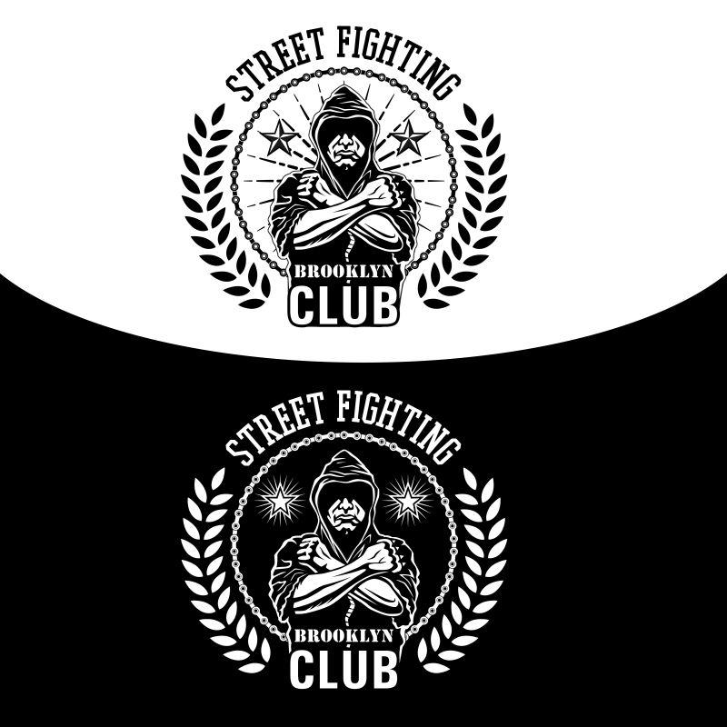 矢量的街头战斗俱乐部会徽