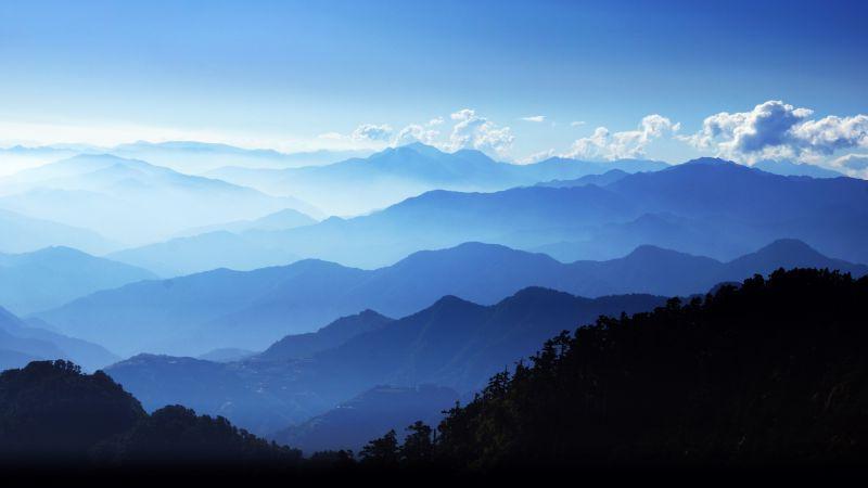 户外自然山脉的山麓丘陵