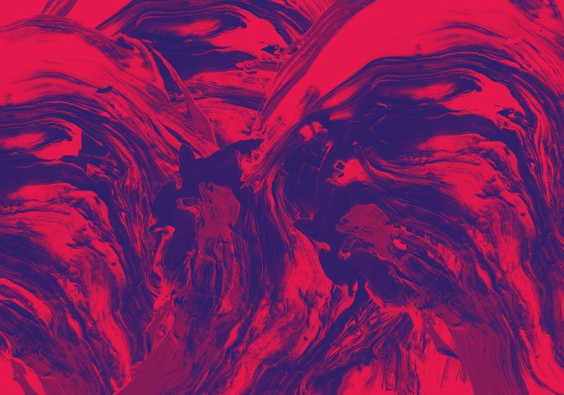 红色抽象图案纹理背景