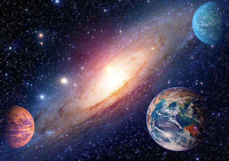 美丽的银河星系