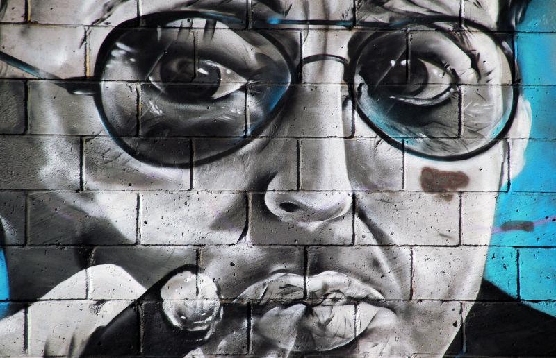 街头人物艺术涂鸦