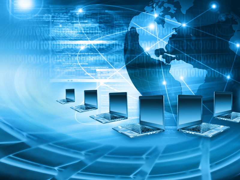 全球网络互联网概念