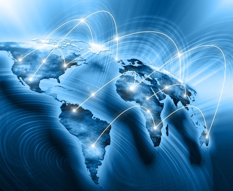 全世界网络互联网概念