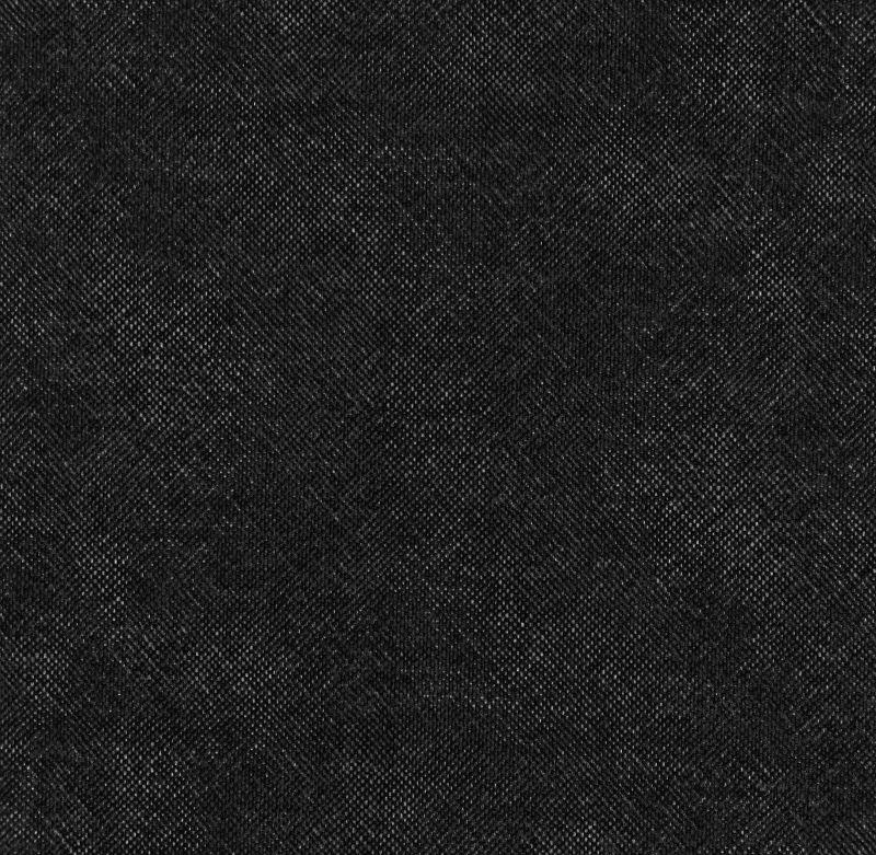 黑色麻布纹理