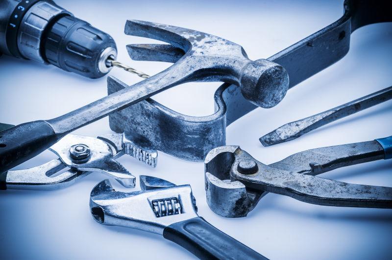 各种家庭修理工具