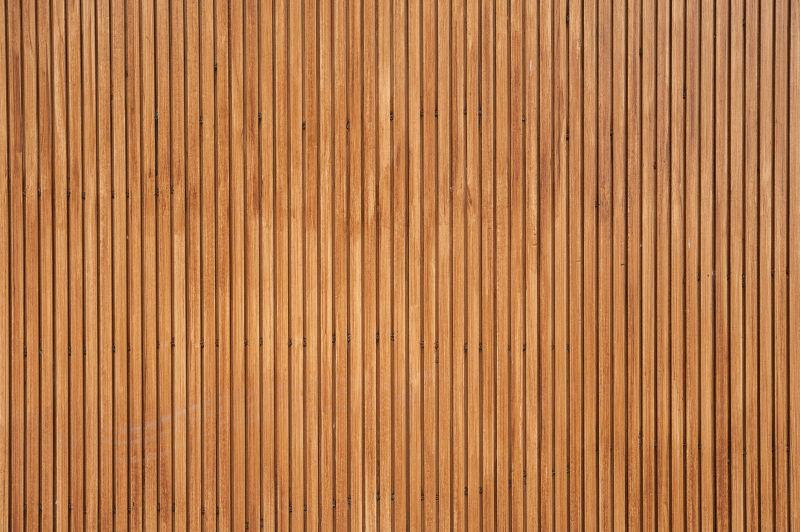 用木材制作的人造木墙