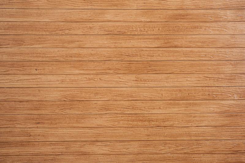 黄褐色的木材墙板
