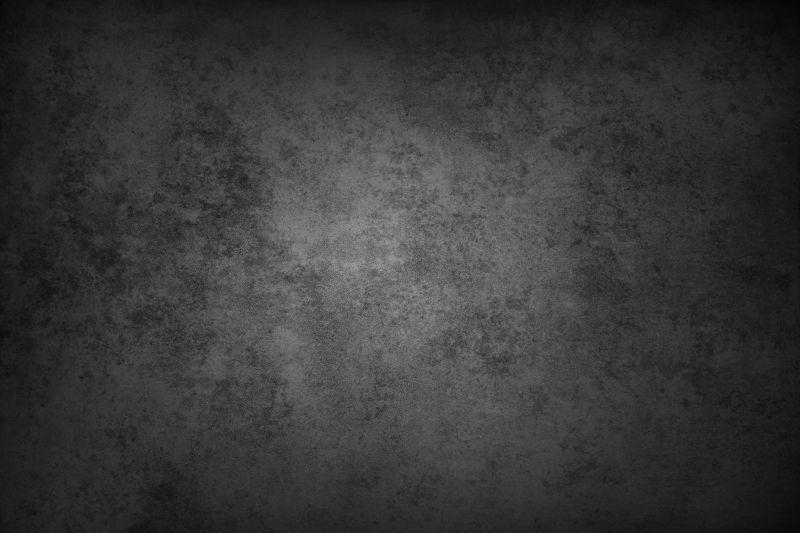 黑色混凝土墙背景