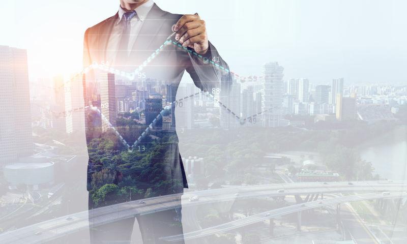 商业数据浮动概念