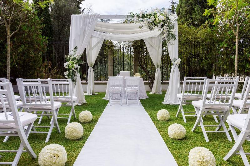 大自然新婚场地装饰