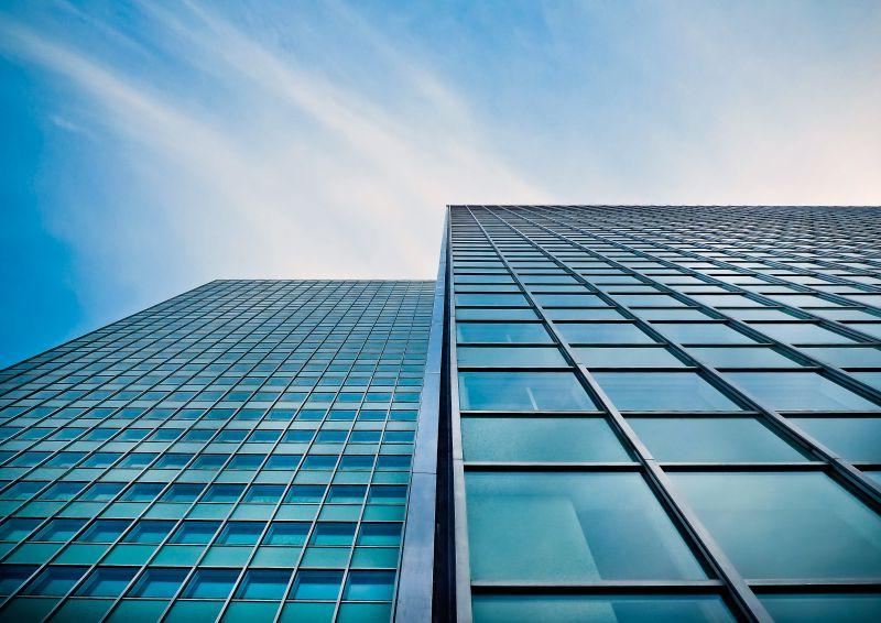 商业建筑玻璃外观