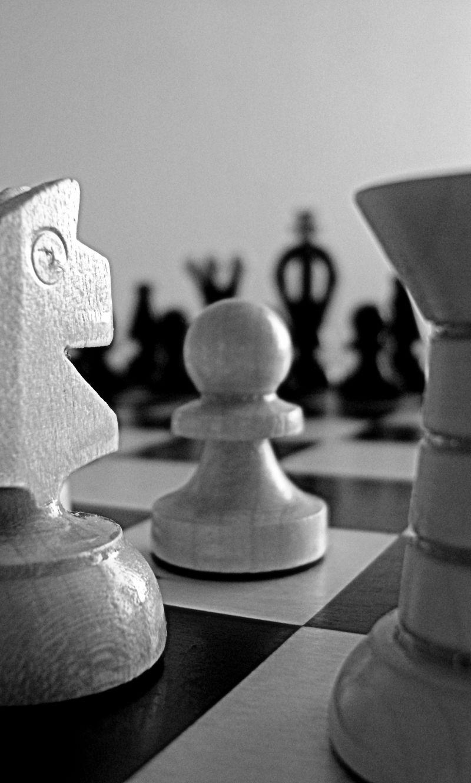 国际象棋近景