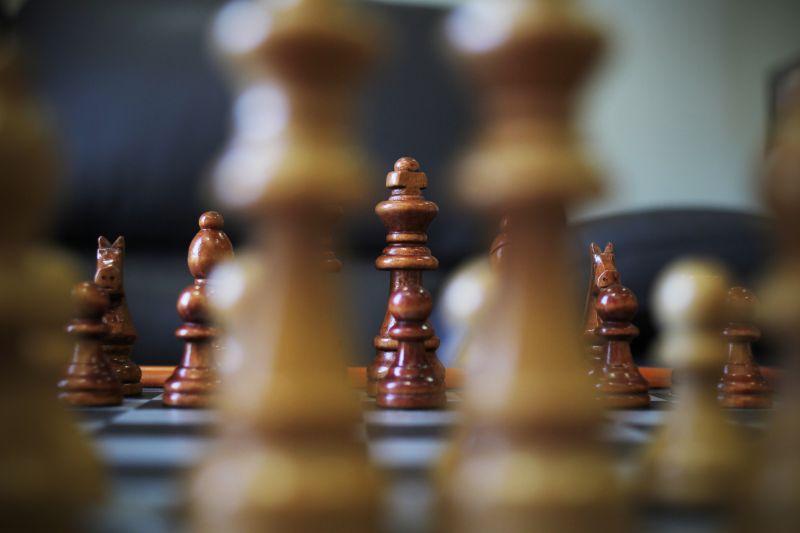 木头材质国际象棋