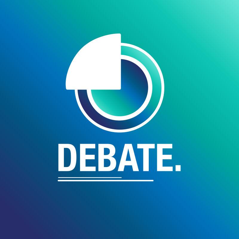 矢量的辩论选举插图
