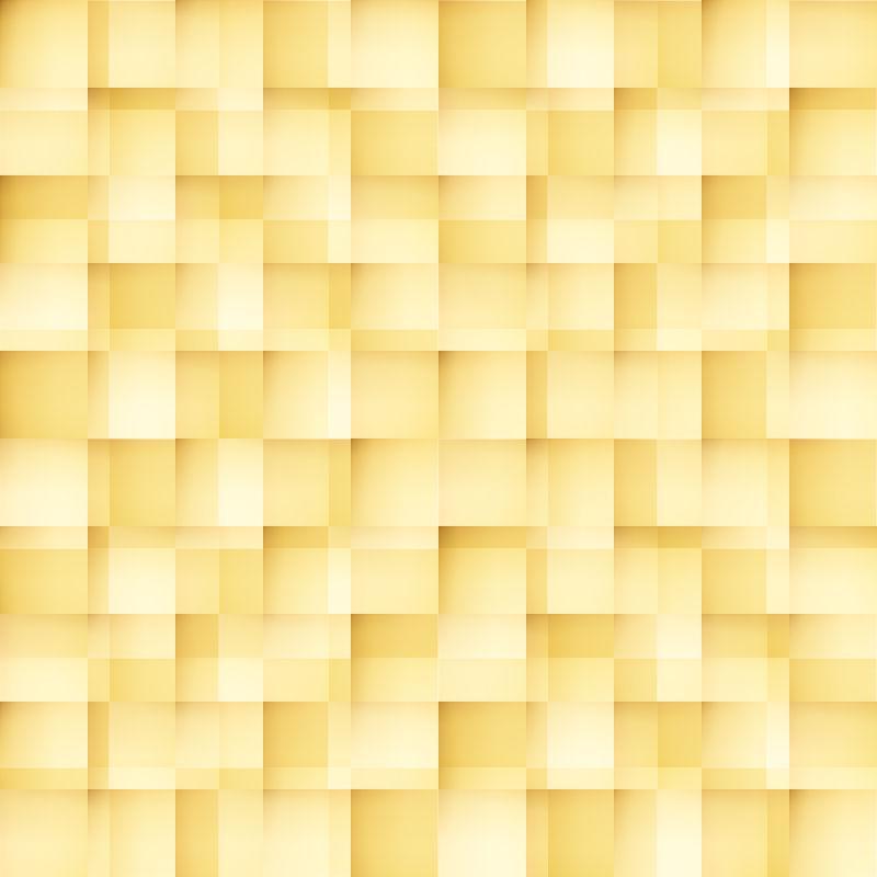 黄色格子规则纹理背景