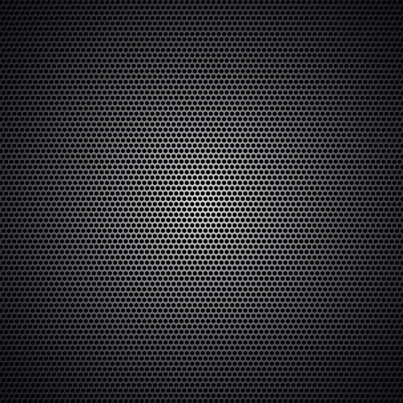黑碳汽车脚垫规则纹理背景