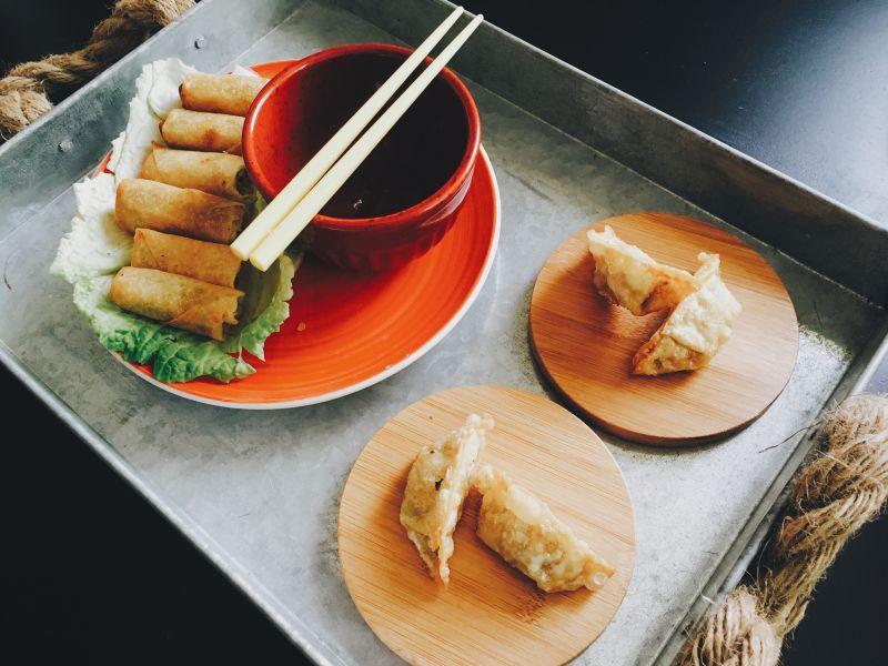 煎饺和其它点心