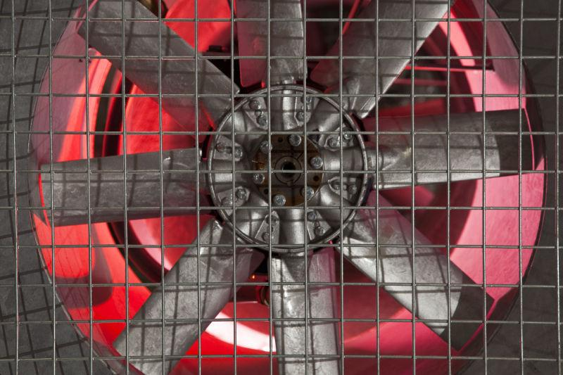 工业金属风扇