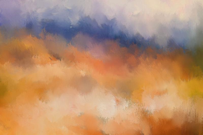 日落抽象纹理背景