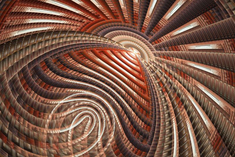棕色的抽象图案纹理背景