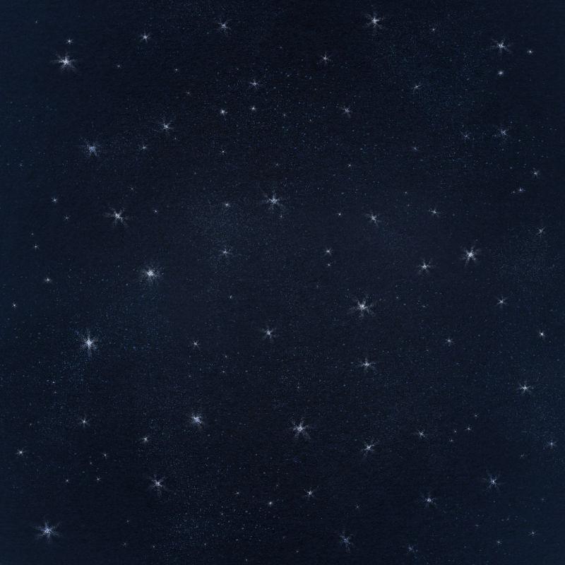 浩瀚的深色星空背景