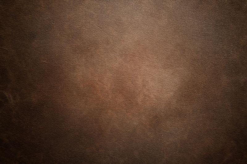 棕黑色皮革纹理