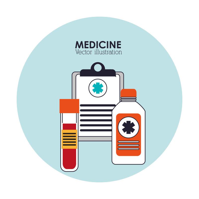 矢量的医疗保健医院图标