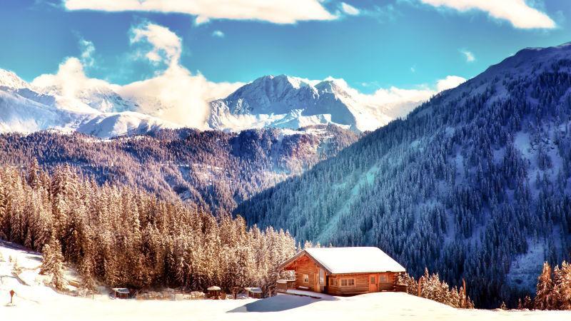 山上的木屋