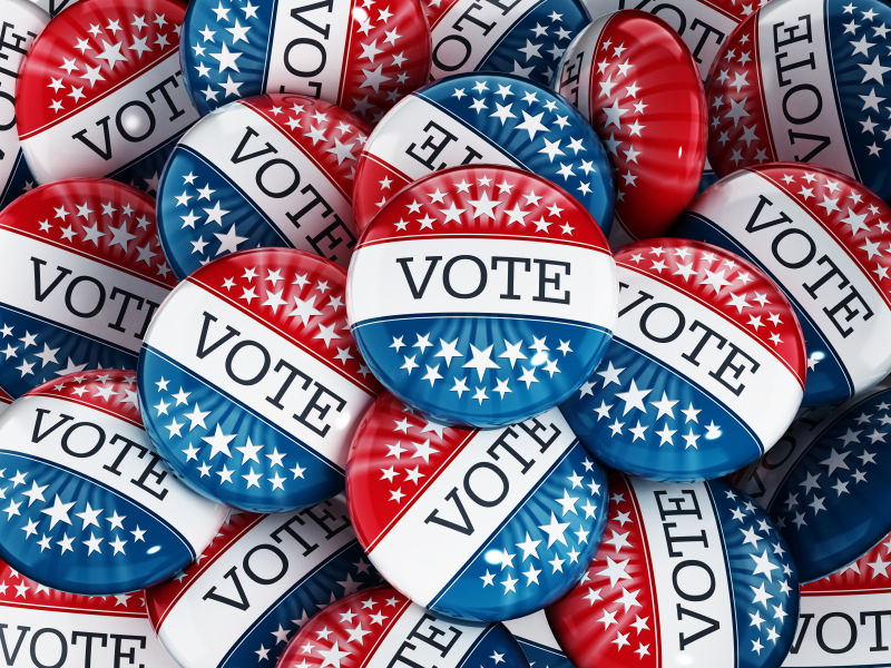 美国投票徽章