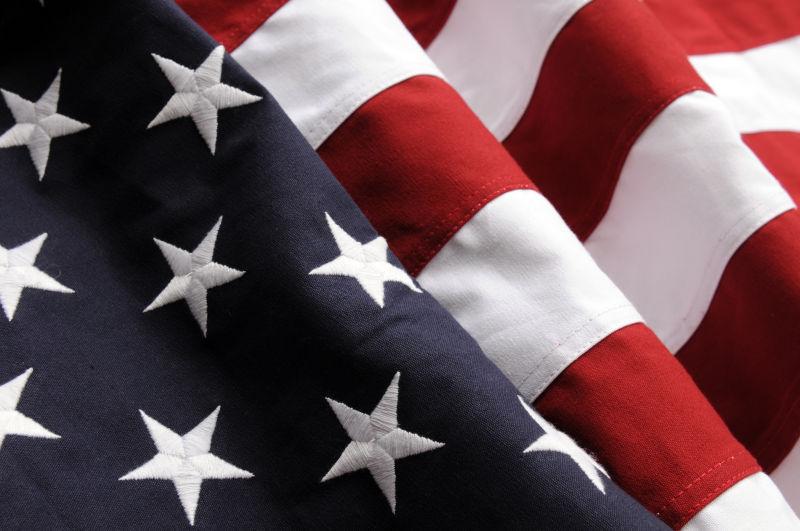 精美的美国国旗