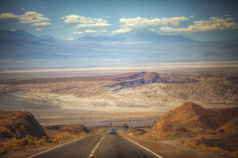 风景优美的公路