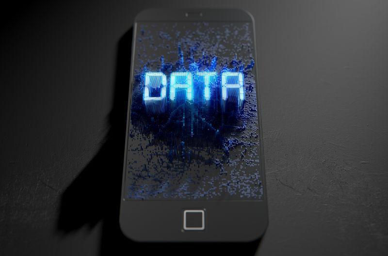 手机页面的数据