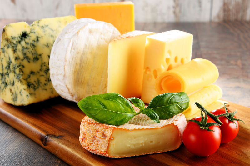 金黄的奶酪