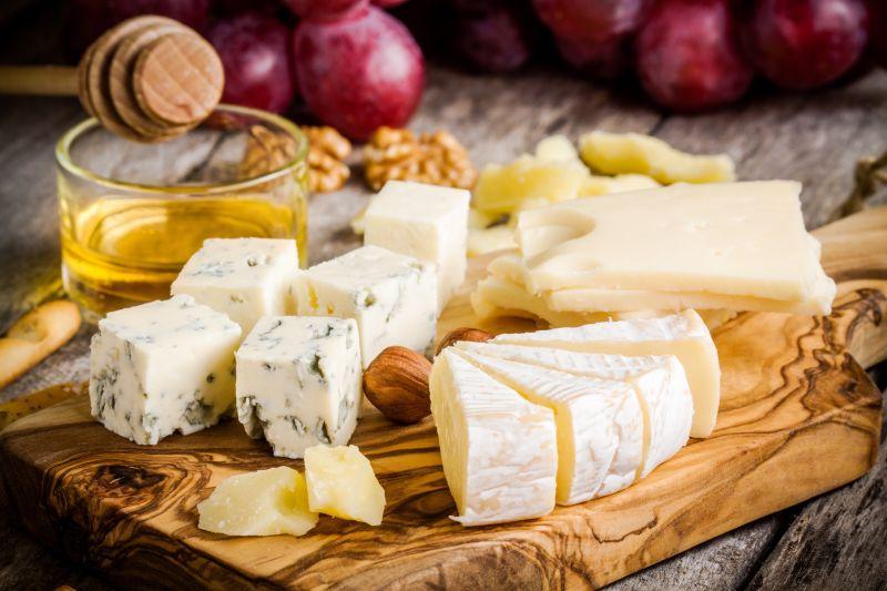 切碎的奶酪