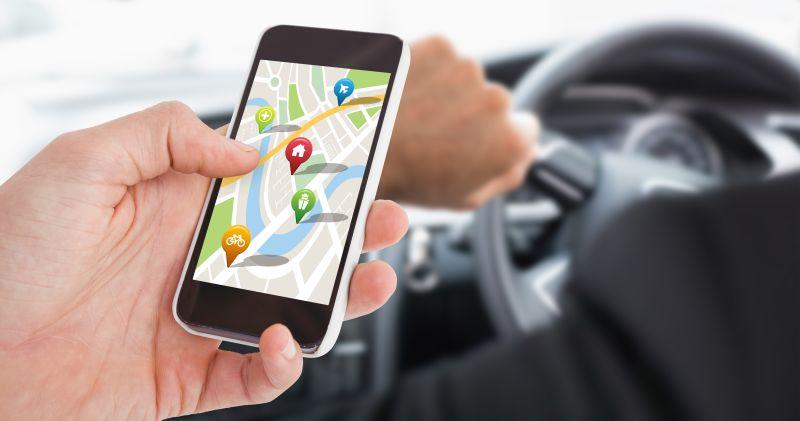 利用智能手机定位GPS导航