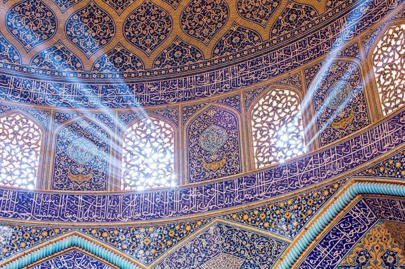 华丽的穆斯林建筑