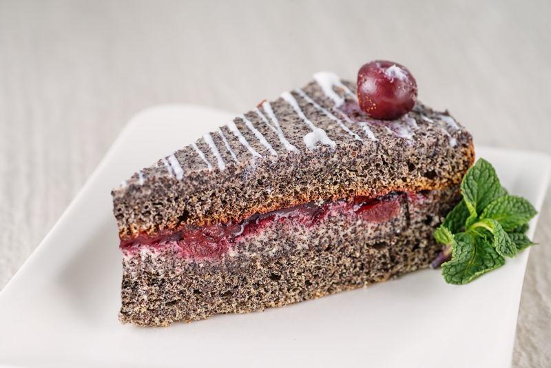 罂粟奶油蛋糕
