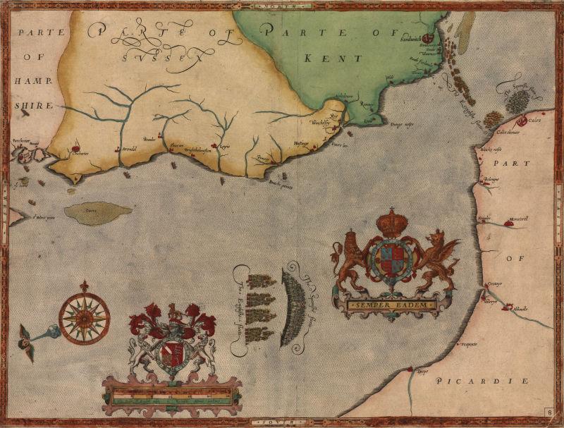 古老的历史地图