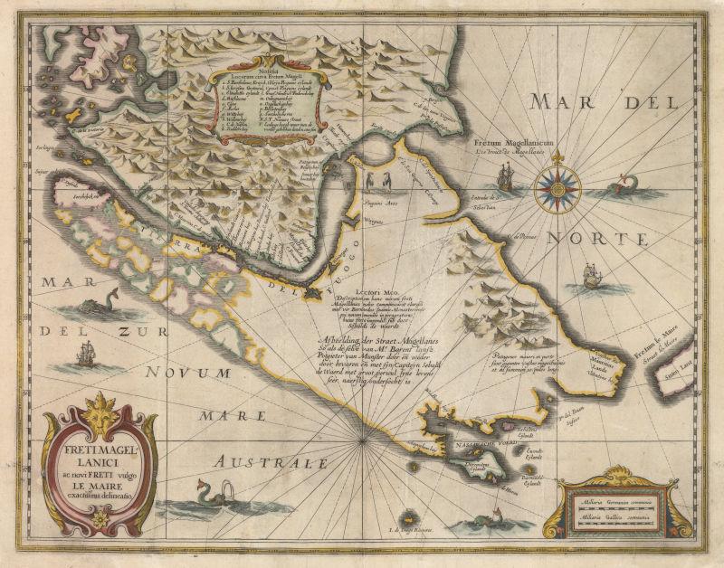 古老的航海图