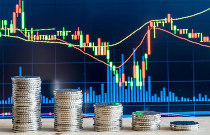 股票市场计算图表