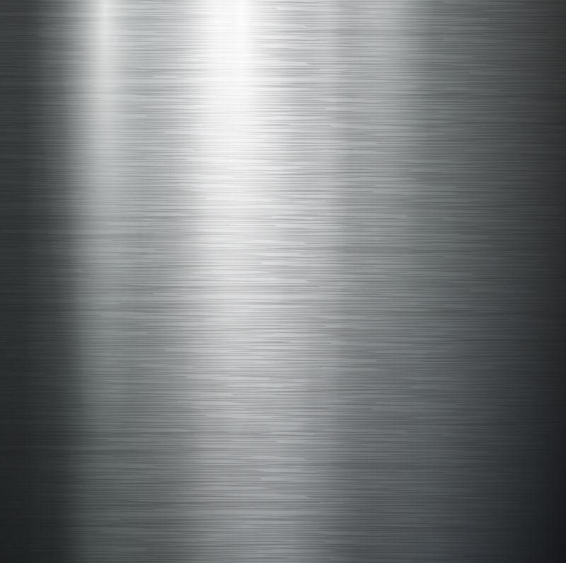 矢量不锈钢金属纹理背景