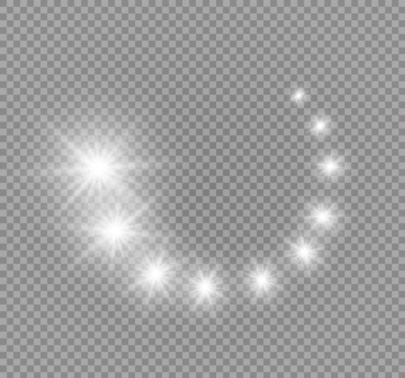 矢量抽象的灯光插图