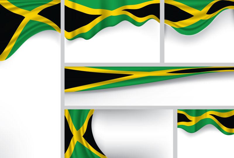 矢量牙买加国旗