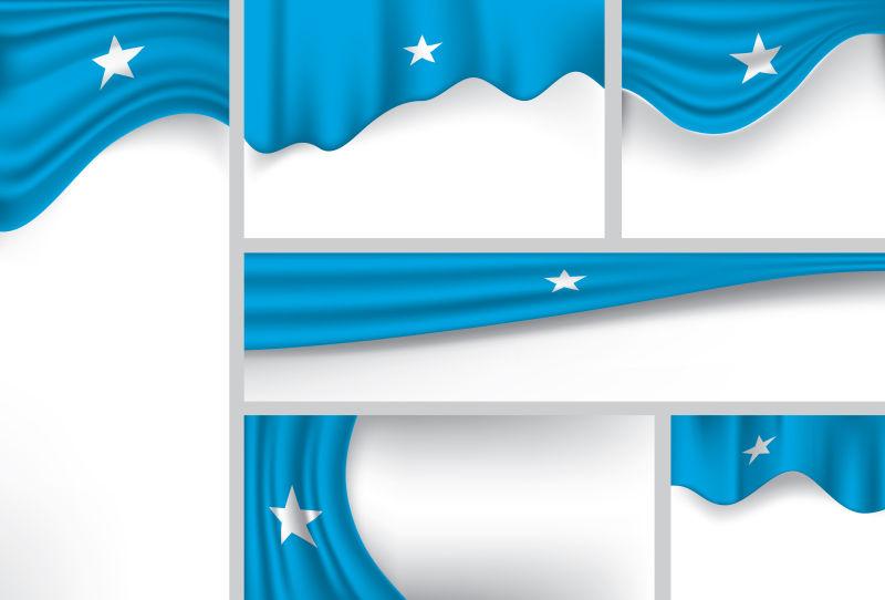 矢量喀麦隆国旗设计