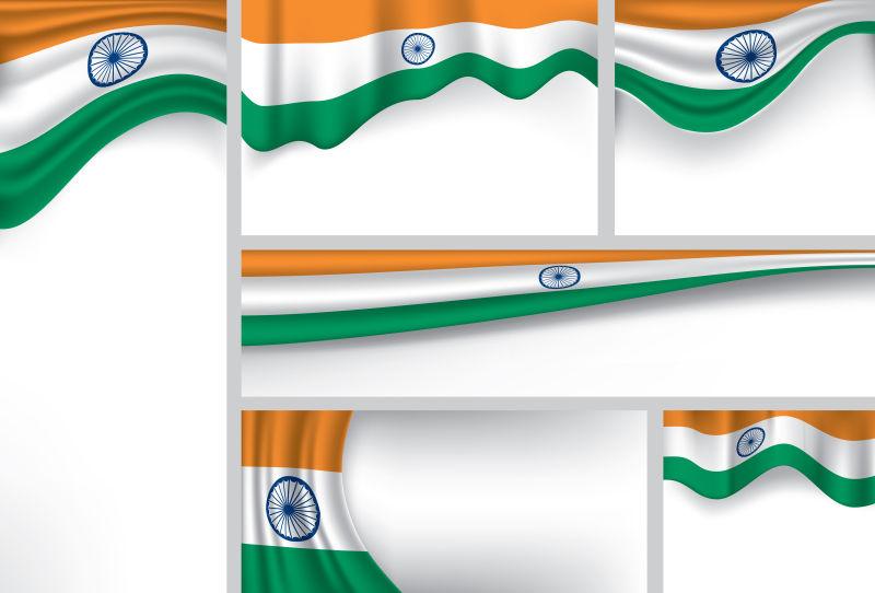 矢量印度国旗
