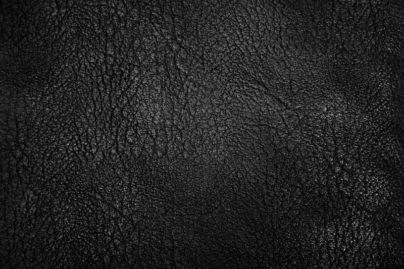 多条痕迹纹理的皮革